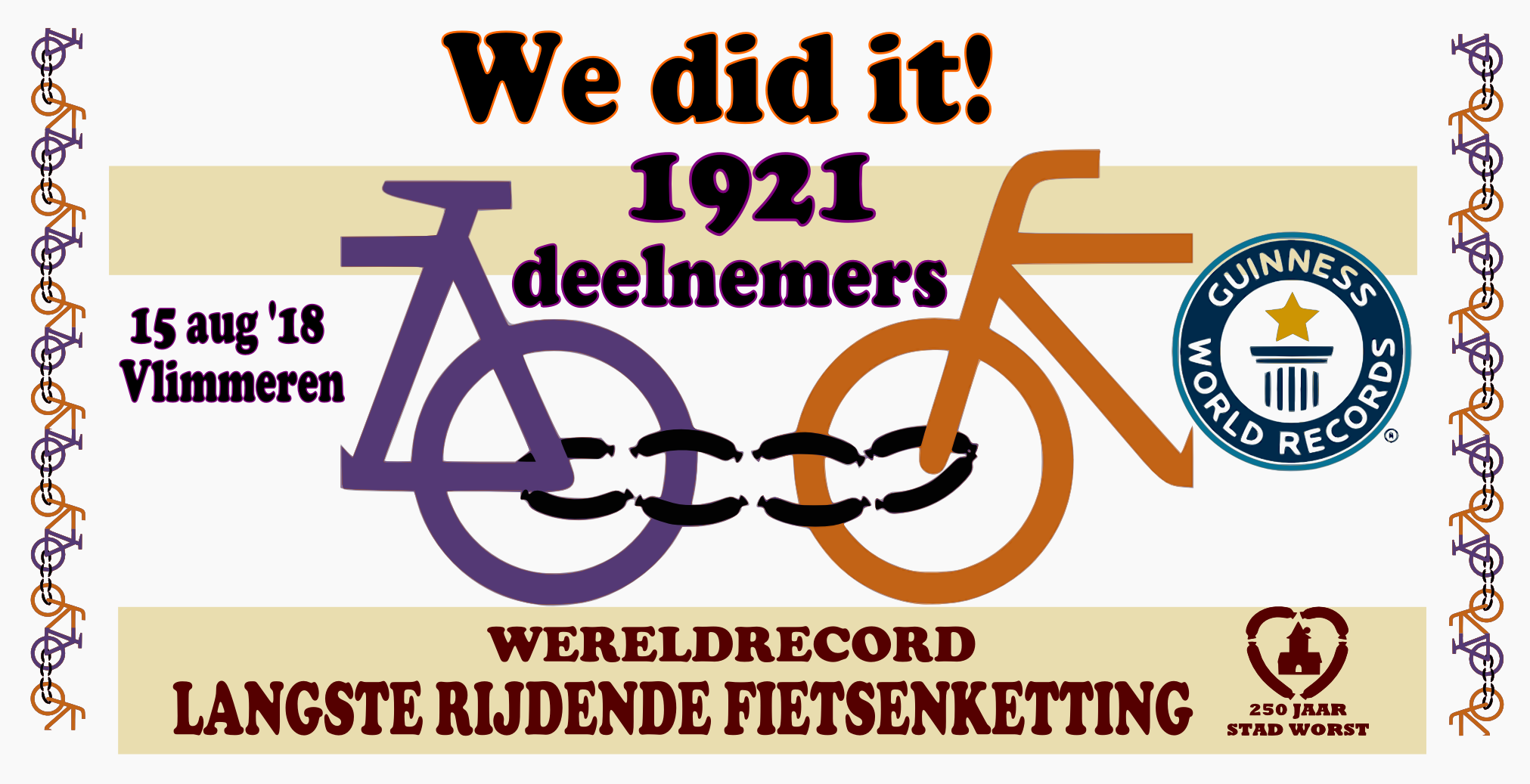 RECORD WERFDOEK WE DID IT websiteWIT